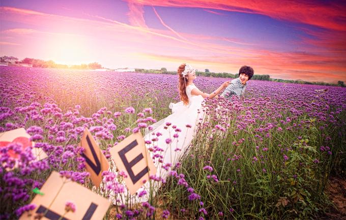爱度摄影3799元婚纱照