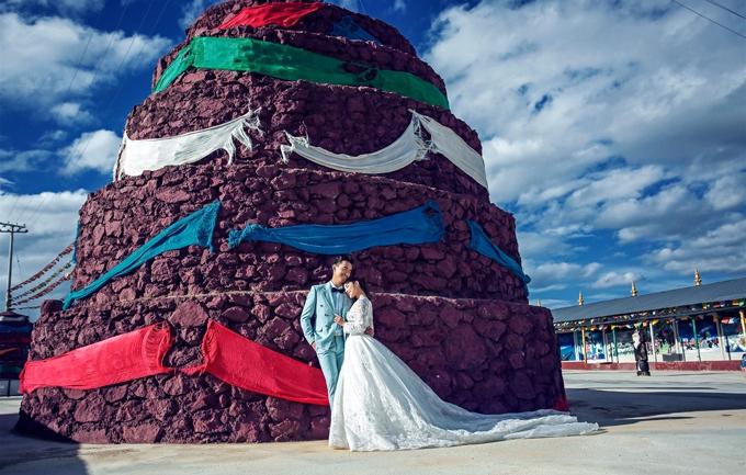 幔幔一生5999元婚纱照