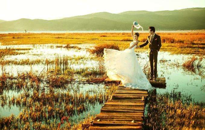 米兰春天12888元婚纱照