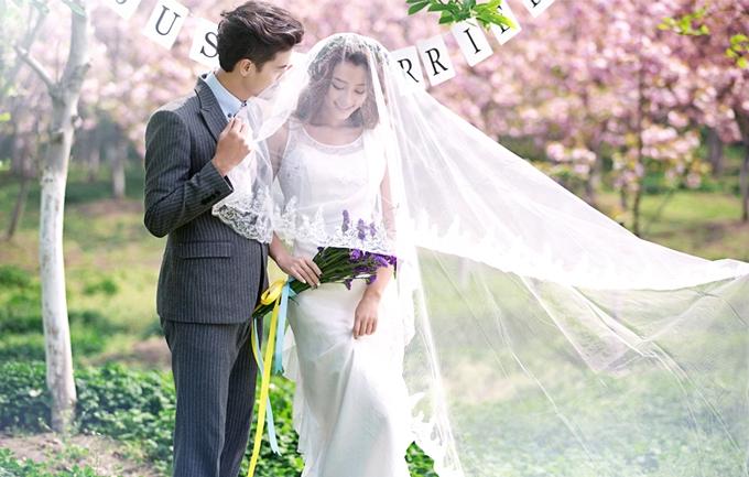 蓝海城4999元婚纱照