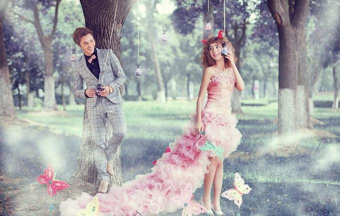 东方巴黎2280元婚纱照