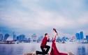 夏盛视觉5998元青岛旅游婚纱照