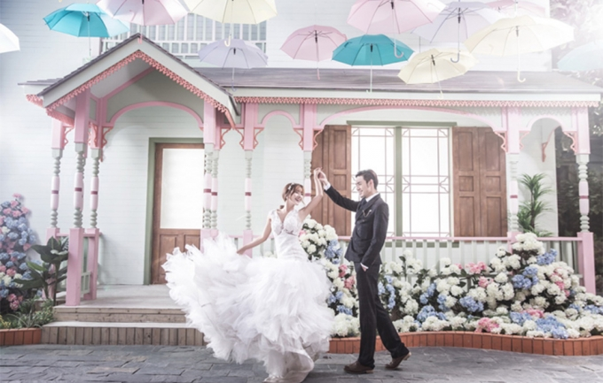 美丽新娘1698元婚纱摄影