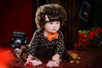 杭州南瓜庄园儿童摄影
