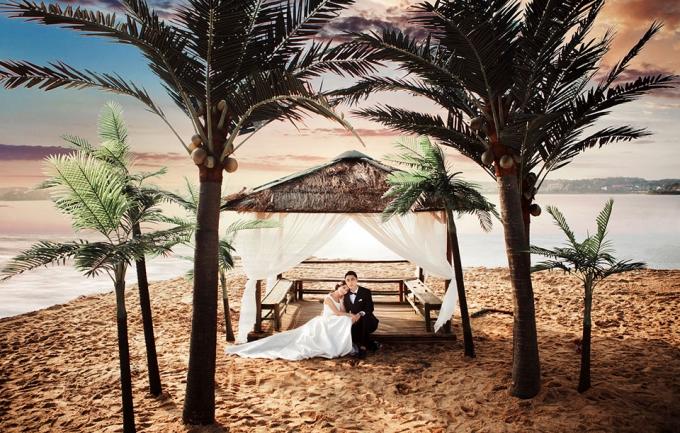 左岸2699元婚纱摄影