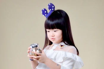 宁波黑琵儿童摄影