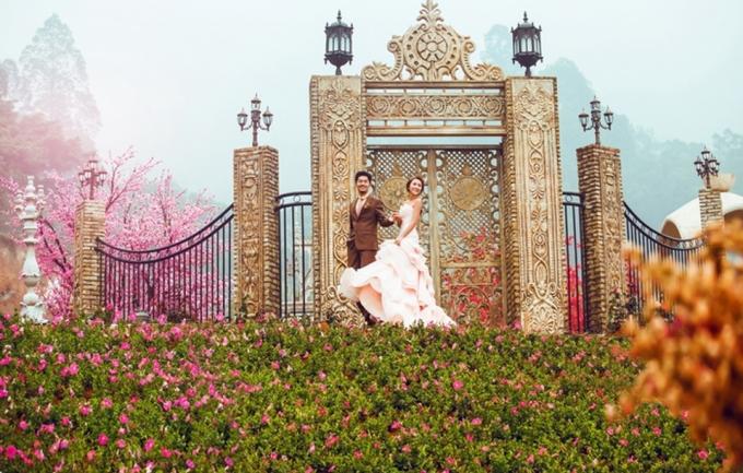 巴黎婚纱5999元婚纱摄影