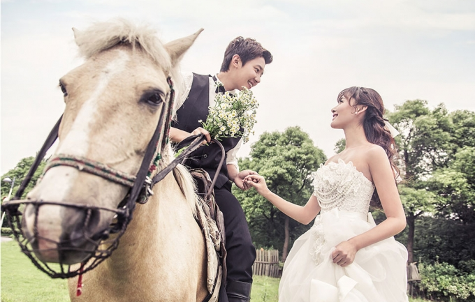 时光记忆5999元婚纱摄影