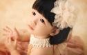 薇薇新娘499元宝宝照
