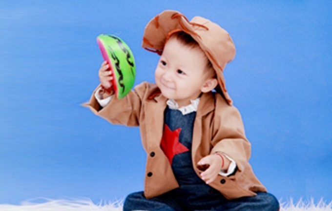 雅雅摄影399元儿童照