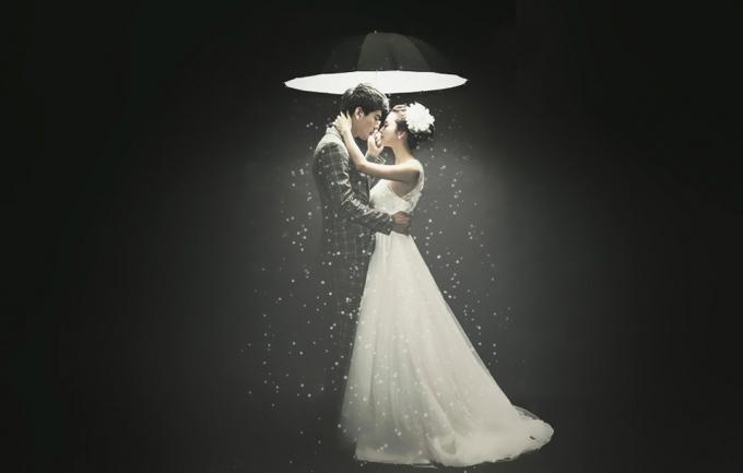 品味空间2998元婚纱照