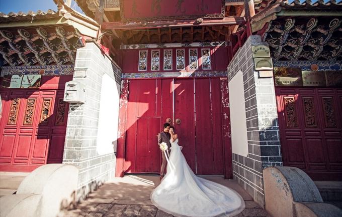 爱和映像9995元婚纱照