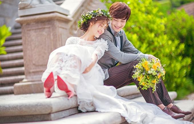 蓝玛5988元婚纱照