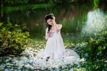重庆小糖果5D儿童摄影