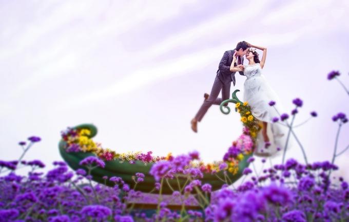 美薇5999元婚纱照