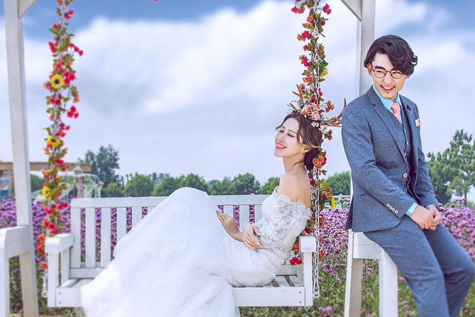 时尚巴黎4999元婚纱摄影