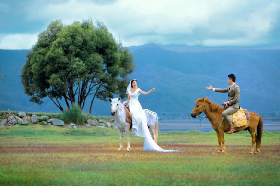 菲林12888元婚纱照