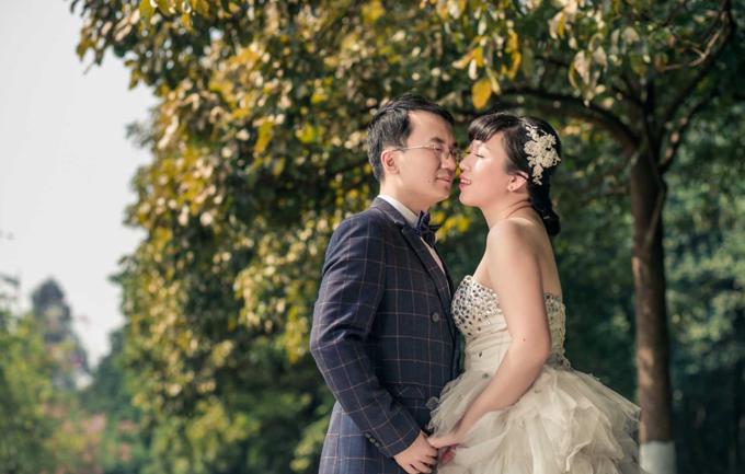 潘朵拉1288元纪念婚纱照