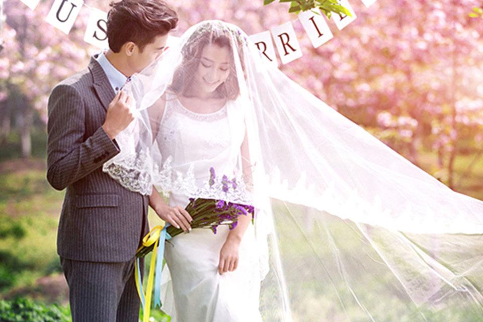 清摄影3280元婚纱照