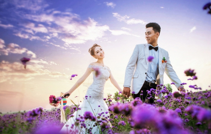 苏棠6699元婚纱照