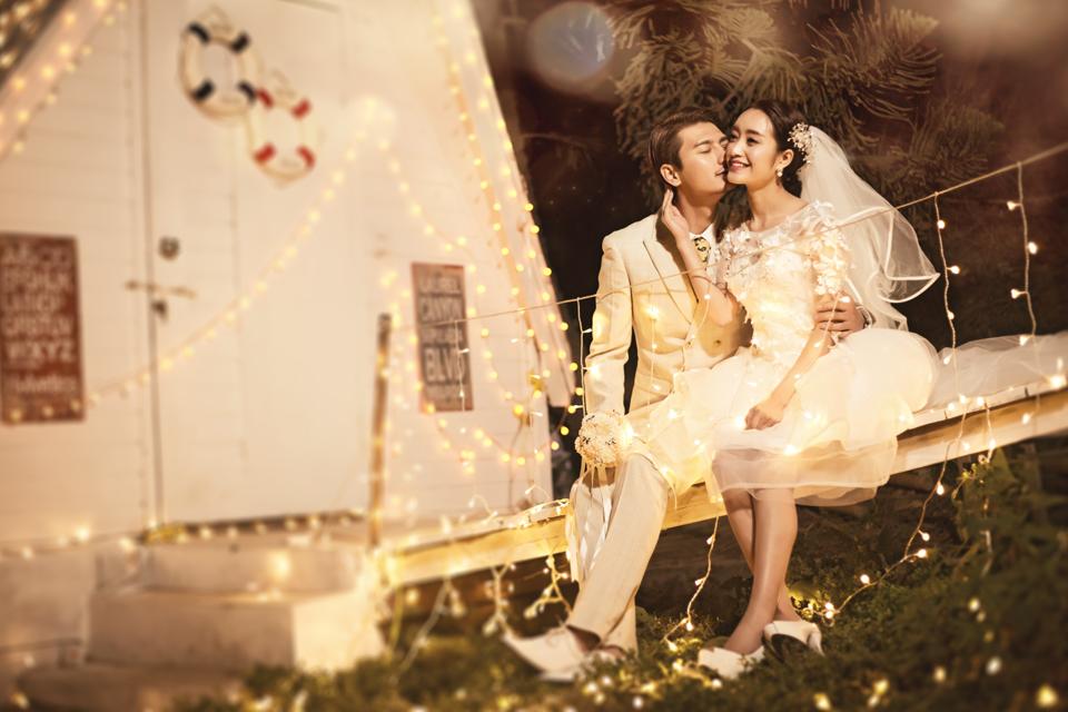 唯美印象3999元婚纱照