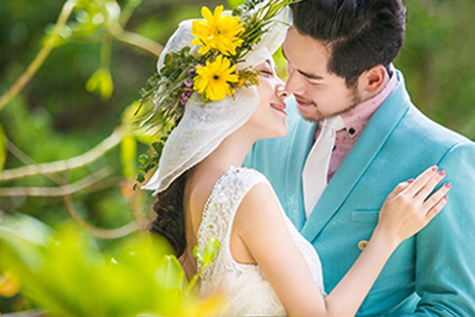 陌上花开2999元旅拍婚纱照