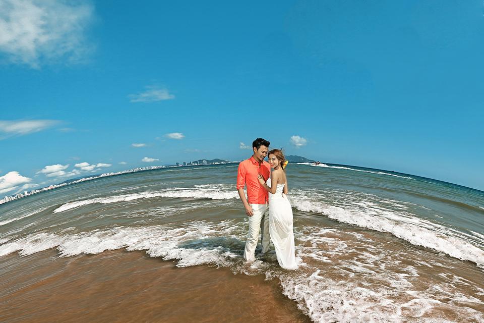 台北制造4999元三亚旅拍婚纱