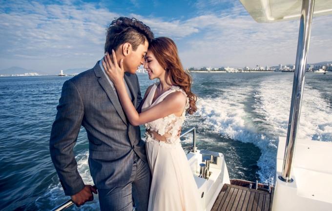 施华洛4999元婚纱照