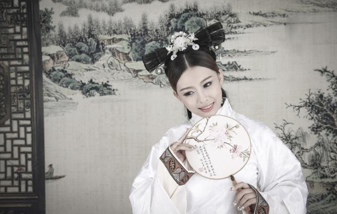 时尚中国风299元个人写真