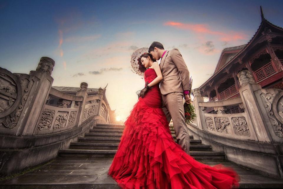 苏菲国际3899元婚纱摄影