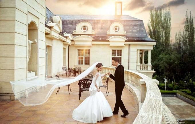 铂爵5288元婚纱摄影