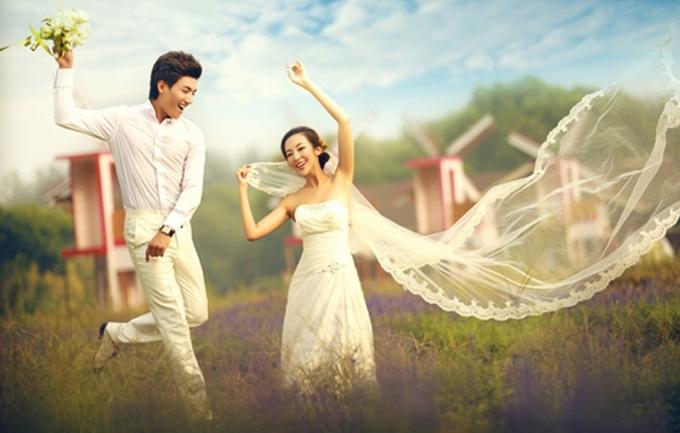 周周视觉2999元婚纱摄影