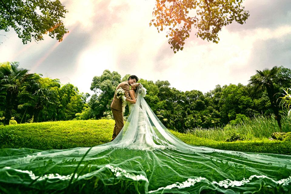 浪漫宣言3699元婚纱照