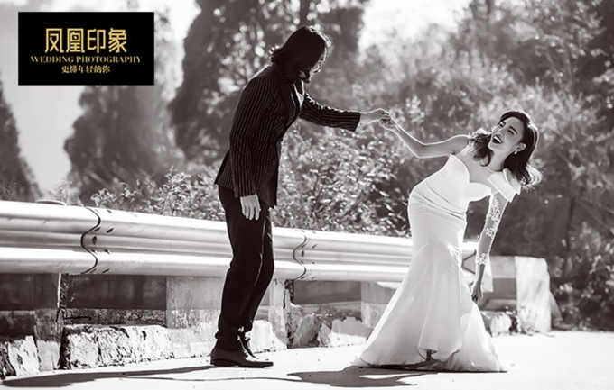 凤凰印象6188元皇室尊享婚纱照