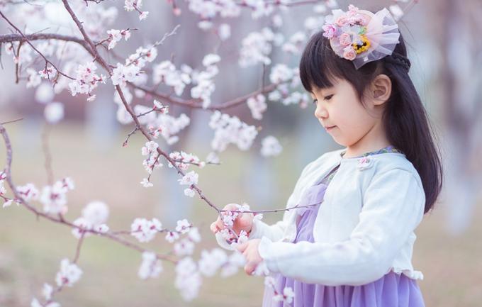 七彩日记598元儿童外景摄影