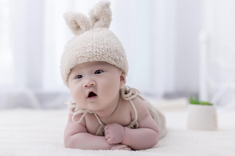 豌豆花398元百天儿童照