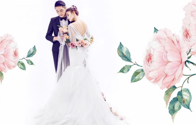 花图3999元婚纱照