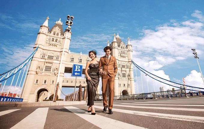 米兰国际12999元旅拍婚纱摄影