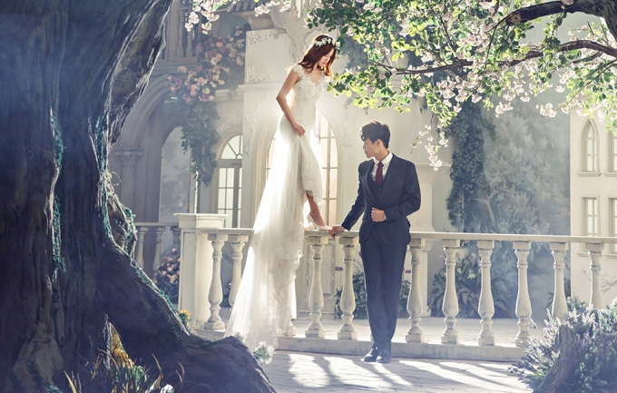 米兰国际6999元婚纱摄影