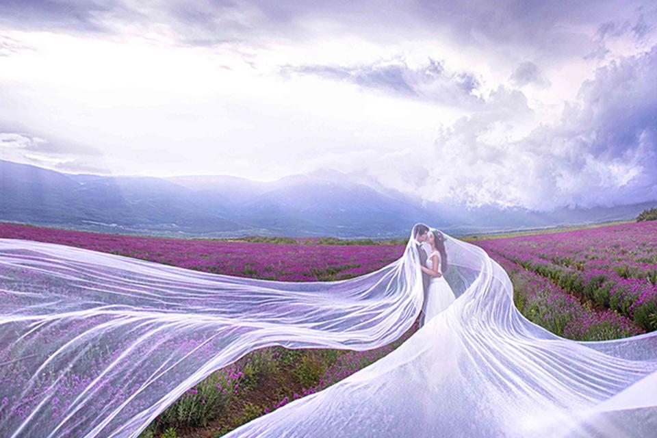 金夫人7999元婚纱艺术摄影