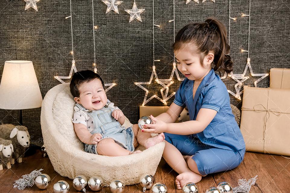 快乐鸟2298元新生儿/满月/百天宝宝成长套系