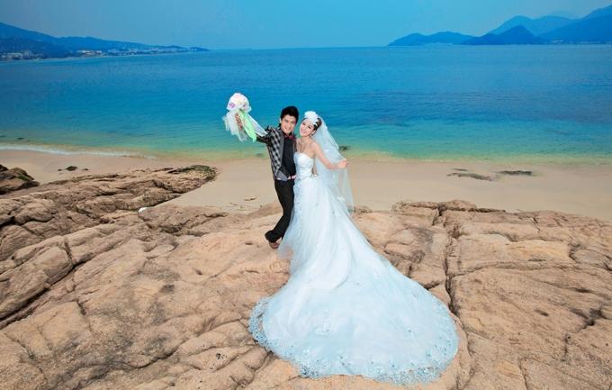 巴黎春天4988元三亚旅拍婚纱照
