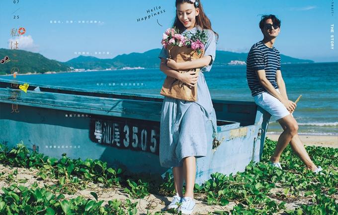 好莱坞国际1999元情侣照/全家福