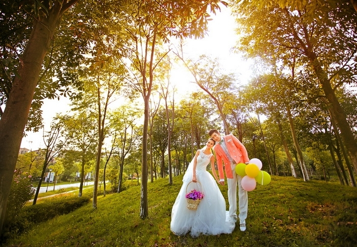 长沙婚纱摄影-山川水景的晒片