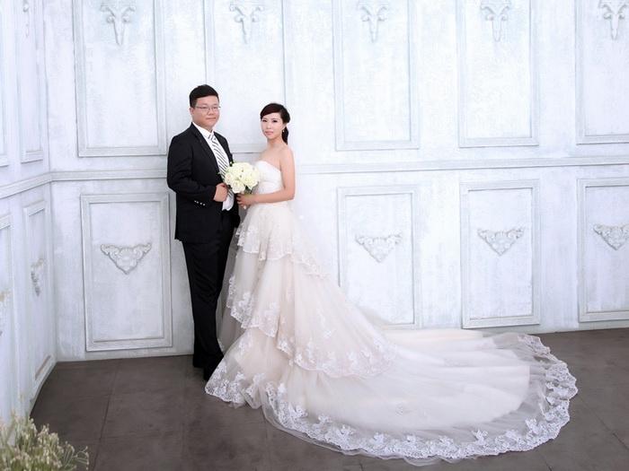 晒下我们的结婚照_婚纱摄影