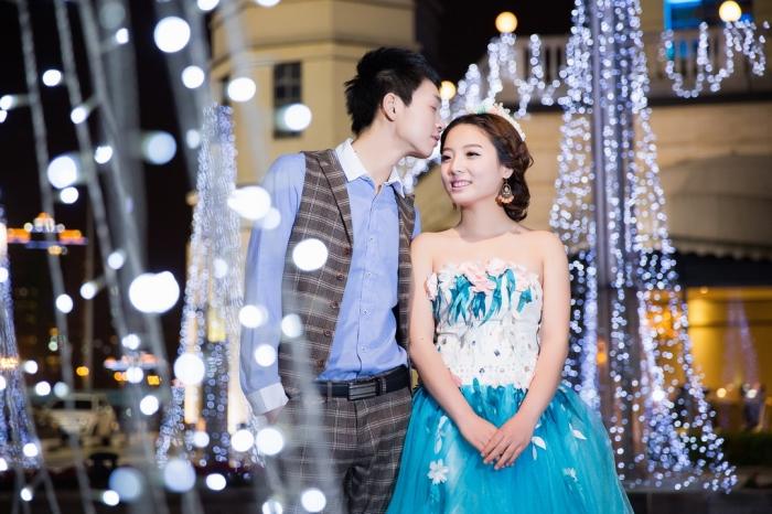 苏州婚纱摄影-从来都不晚的晒片