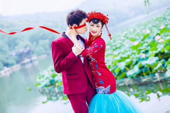 杭州婚纱摄影-蜕化也是美的晒片