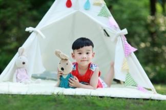 两岁生日照_儿童摄影_童谣时尚孕婴摄影机构