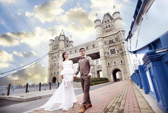 苏州婚纱摄影-冰雪阳光的晒片