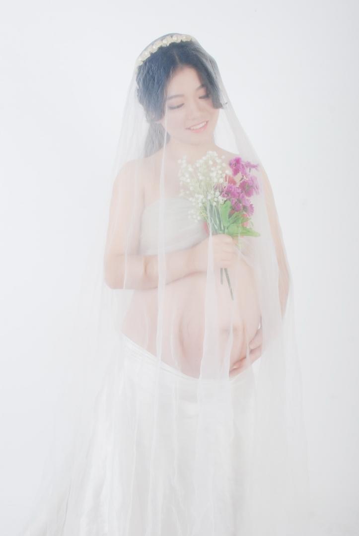 合肥孕妇摄影-当往事袭来的晒片